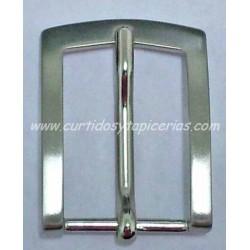 Hebilla de Cinturon de 30mm de paso (ref. 121) - Color NIquel
