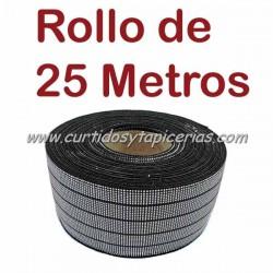 Cincha Elastica 80mm (Rollo de 25 mts)