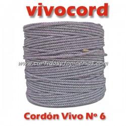 Cordón Vivo Gris Normal Nº 6 (Vivocord)