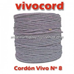 Cordón Vivo Gris Normal Nº 8 (Vivocord)
