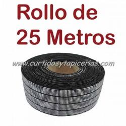 Cincha Elastica 40mm (Rollo de 25 mts)