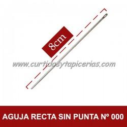 Agujas Rectas sin Punta Nº 000