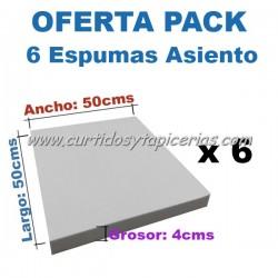 Pack Goma espuma Especial Asiento Silla