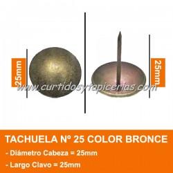 Tachuela Bronceada Nº 25