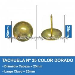 Tachuela Dorada Nº 25