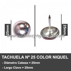 Tachuela Niquelada Nº 25