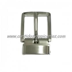 Hebilla de Cinturon con Dientes de 30mm de paso - Color Niquel