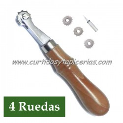 Ruleta de Marcar Puntadas (Ruedas Recambiables) - con 4 Ruedas