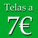 TELAS A 7€ METRO