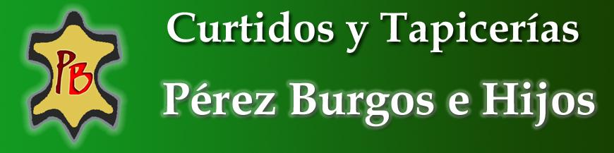 Tienda Online de Curtidos, Tapicerias y articulos para Zapateria y Guarnicioneria. Perez Burgos e Hijos S.L.
